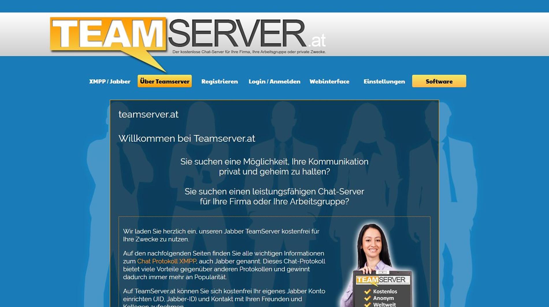 Website zum Chatten