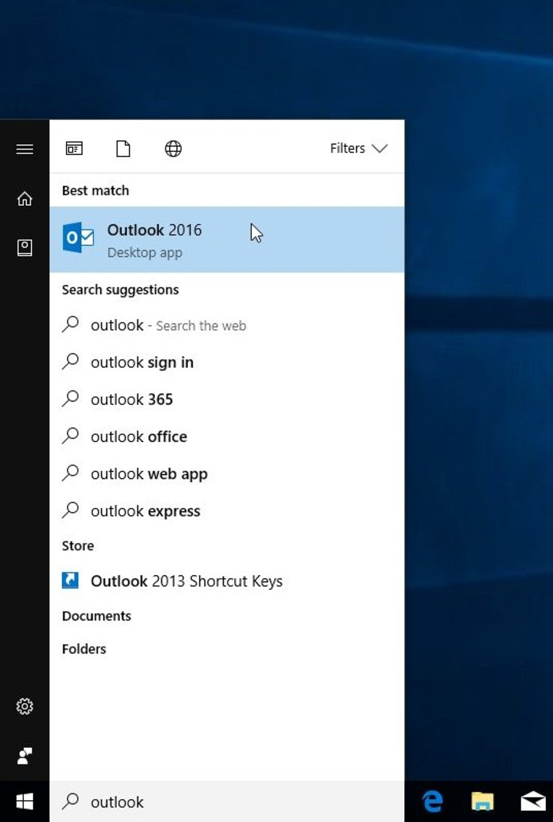 Set Up New Imap E Mail Account In Microsoft Office Outlook 2016