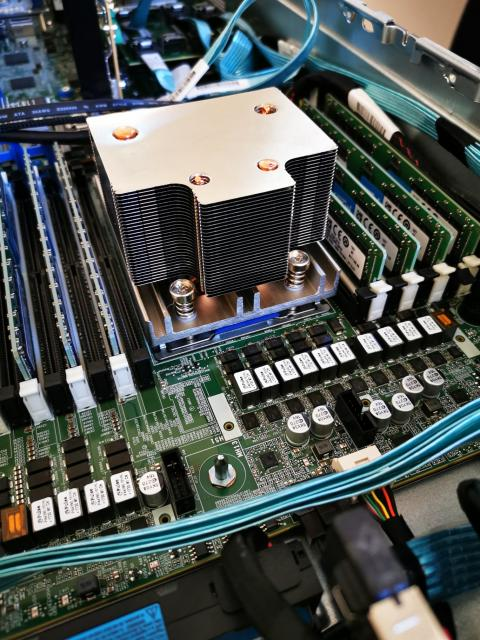 Heatsink eines HPE DL385gen10 Servers