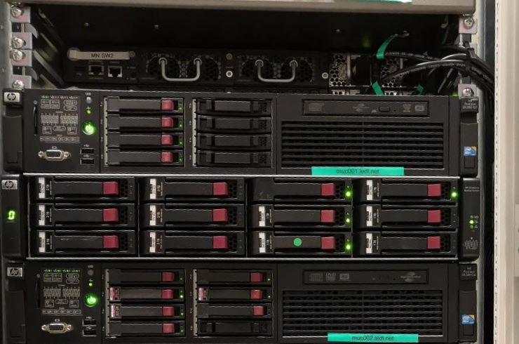 Backup Server für den Failover Betrieb