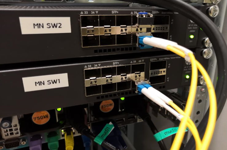 40G Cross-Connects und 10G-Upstreams